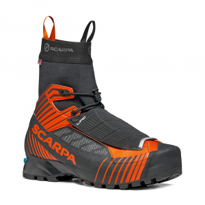 RIBELLE TECH HD   -   Ultra-lightwetght for fast tecnical alpinism   -   Black-Orange