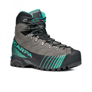 RIBELLE HD WOMAN  -  Lightweight for fast and light mountaineering, via ferratas   -   Titanium-Aqua