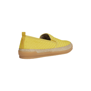 SNEAKER SLIP ON U MONDELLO IN TELA INTRECCIATA