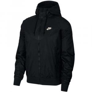 Nike Giacca a Vento Black da Uomo