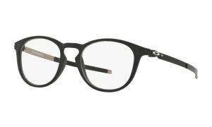 Oakley - Occhiale da Vista Uomo, Pitchman R, Satin Black  OX8105-0150L  C50