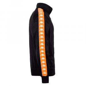 Giacca Kappa Banda Anniston Black Orange da Uomo
