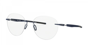 Oakley - Occhiale da Vista Uomo, Drill Press, Matte Midnight   OX5143-0351  C51