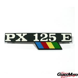 142720710 TARGHETTA LATERALE PX 125 E ARCOBALENO PIAGGIO