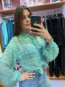 Camicia Pois Tiffany