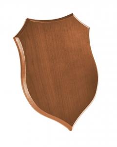 Crest scudo legno chiaro cm.18x25x1,5h