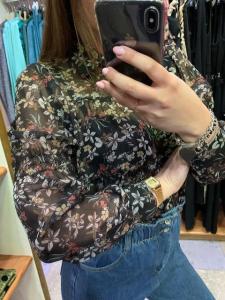 Camicia Fantasia floreale 3 colori