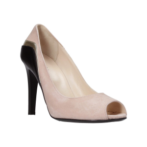 DECOLLETE OPEN TOE DONNA IN SUEDE