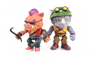 Teenage Mutant Ninja Turtles (the Loyal Subjects) Wave 2 - Bebop & Rocksteady