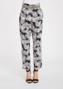 Pantaloni con stampa floreale GAUDì