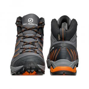MAVERICK MID GTX   -   Hiking veloce su terreni misti, Impermeabile e leggera   -  Iron Gray-Orange