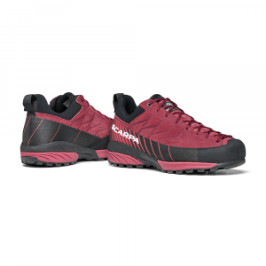 MESCALITO GTX WOMAN   -   Technical approach, via ferratas, excursions on wet terrain   -   Brown Rose-Mineral Red
