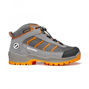 MISTRAL KID GTX   -   Trekking on trails and forests, waterproof   -   Gray-Orange