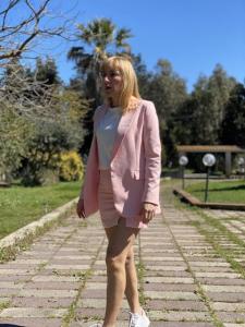Completo Vicolo Giacca e Minigonna Rosa