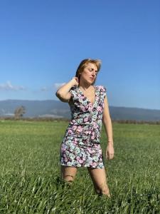 Vestito corto Vicolo flowers
