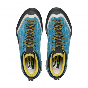 ZEN PRO   -   Technical approach, via ferratas,  mountainin hikes   -   Lake Blue-Mustard