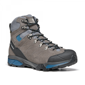 ZG TREK GTX   -   For moving fast on alpine hikes, waterproof   -   Titanium-Lake Blue