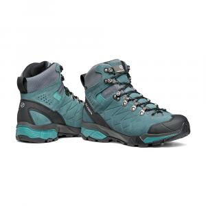 ZG TREK GTX WOMAN   -   Trekking per escursioni veloci, leggero, Impermeabile   -   Nile Blue-Gray-Lagoon