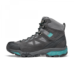 ZG LITE GTX WMN   -   For tracks and trails   -   Dark Gray-Lagoon