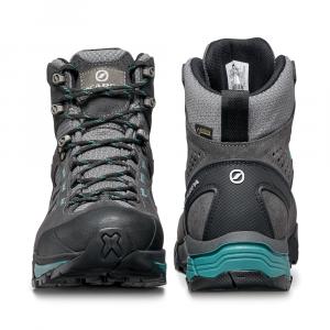 ZG LITE GTX WOMAN   -   Trekking per sentieri sterrati, leggero, Impermeabile   -   Dark Gray-Lagoon