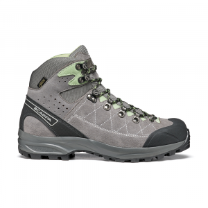 KAILASH TREK GTX WMN   -   On trails with full backpacks, waterproof   -   Midgray-Smoke-Pastel Green