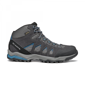 MORAINE MID GTX   -   Hiking su terreni misti, lunghe camminate, Impermeabile   -   Gray-Storm Gray-Lake Blue