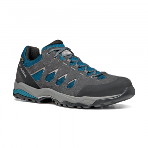 MORAINE GTX   -   Hiking lunghe camminate, uso cittadino, Impermeabile   -   Ocean Blue-Storm Gray- Gray