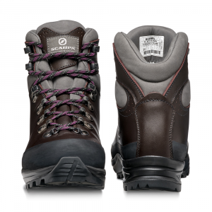 SL ACTIVE WOMAN   -   Backpacking per sentieri tecnici ed impegnativi   -   Bordeaux-Anthracite