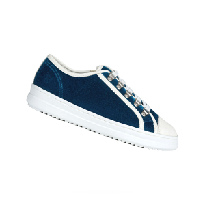 SNEAKER D PONTOISE VELLUTO CON ZIP LATERALE