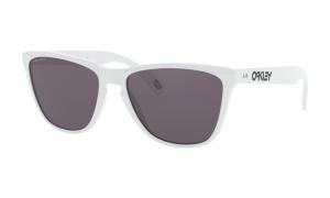 Oakley - Occhiale da Sole Uomo, Frogskins™ 35th Anniversary,Polished White/Grey Prizm  OO9444-0157  C57
