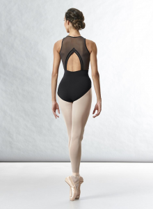 Bloch body collezione  Arrosa con supplex ed inserti mesh sullo scollo