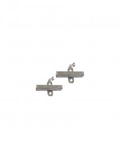 COPPIA di Carboncini Motore aspirazione per motore Ametek Cod: 053200244.00