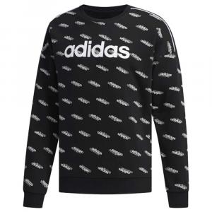 Felpa Adidas Logo Black da Uomo