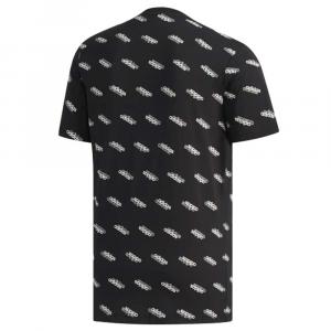Adidas T-Shirt Logo Black da Uomo