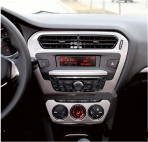 ANDROID autoradio navigatore per Peugeot 301 Citroen Elysee 2013-2017 GPS DVD WI-FI Bluetooth MirrorLink
