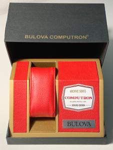 Bulova Computron Acciaio Unisex