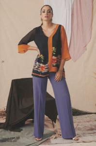Completo cerimonia donna curvy pantalone.