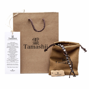 Bracciale Tamashii Ruota Preghiera in Argento BHS924-S3