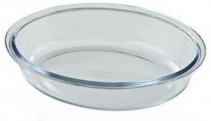 Pirofila ovale vetro borosilicato Pyrex LT 0,75 cm.23x17,5x5h