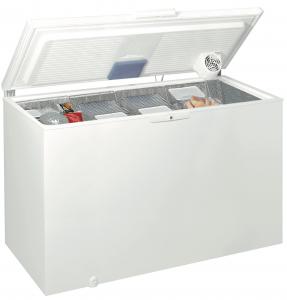 Whirlpool WHE39392 T congelatore Libera installazione A pozzo Bianco 390 L A++