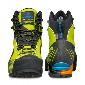 RIBELLE LITE HD   -   Lightweight for fast and light mountaineering, via ferratas   -   Lime-Black