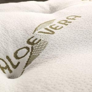 Correttore Materasso Alto 7cm in Memory Foam Med e Oli Aloe Vera Topper Letto Coprimaterasso Imbottitura Fiocco 100% Effetto Piuma Morbido Futon Ortopedico | STARLES