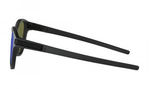 Oakley - Occhiale da Sole Uomo, Latch™, Matte Black/Violet Iridium  OO9265-06  C53