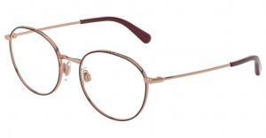 Dolce & Gabbana - Occhiale da Vista Donna, Pink Gold/Bordeaux  DG1322 1333  C53