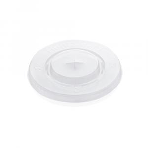 Coperchi piatti per bicchieri in PLA 300-400 ml - Polarity