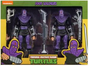 Teenage Mutant Ninja Turtles: Action Figure Animated Series - Wave 2 Foot Soldier 'Army Builder' by Neca