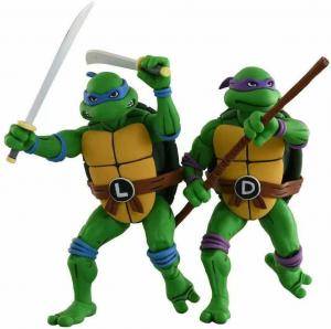 Teenage Mutant Ninja Turtles: Action Figure Animated Series - Wave 2 Leonardo & Donatello by Neca