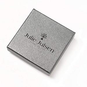 Julie Julsen Orecchini Cuore Rosato
