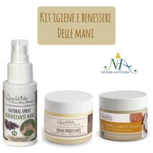 Kit Igiene e Benessere delle Mani Per Gruppo Naturautocura