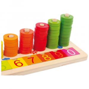 Tabella di calcolo in legno x imparare matematica